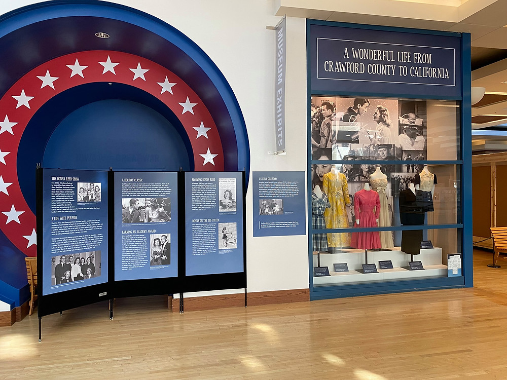 Donna Reed exhibit, State Historical Museum of Iowa