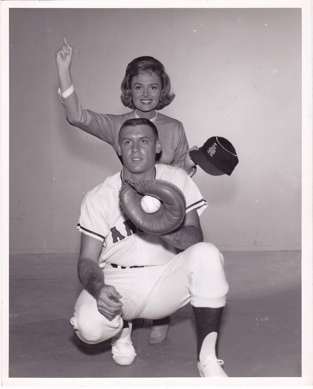 Don Drysdale and Donna Reed