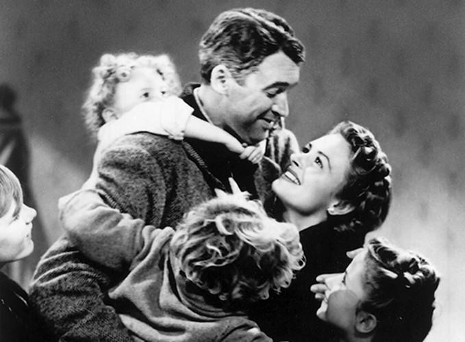 """It's a Wonderful Life"" Bailey family."