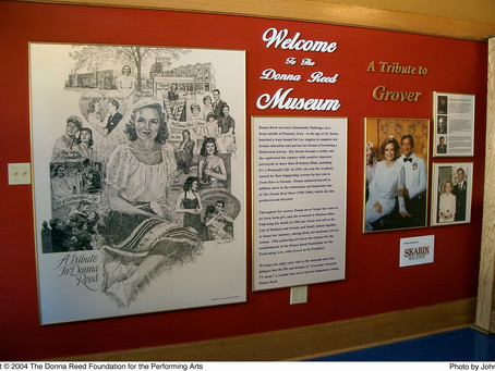Tour the Donna Reed Heritage Museum
