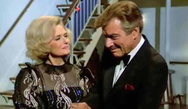 Donna Reed and Efrem Zimbalist Jr. on The Love Boat