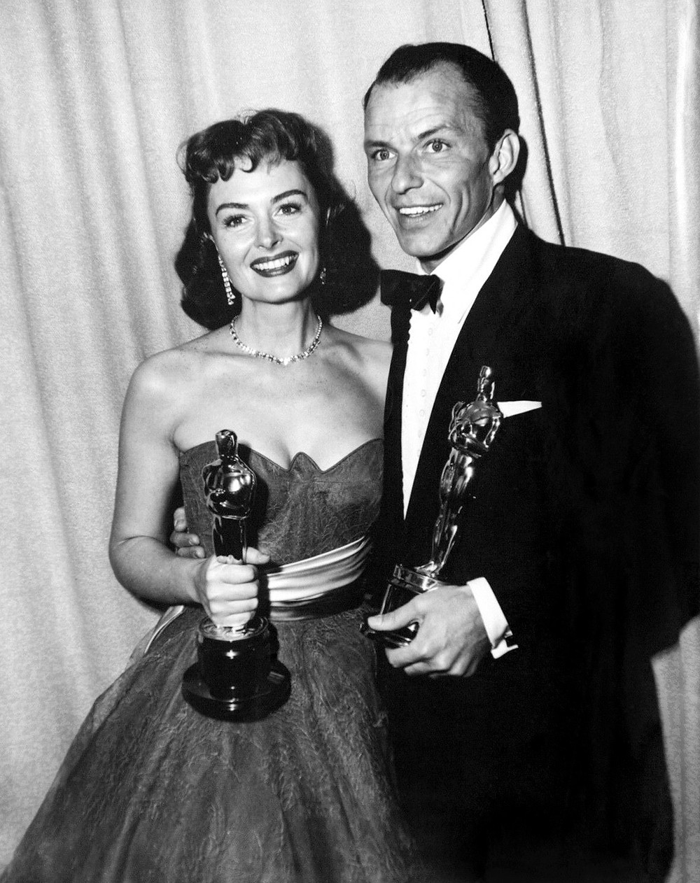 Donna Reed and Frank Sinatra