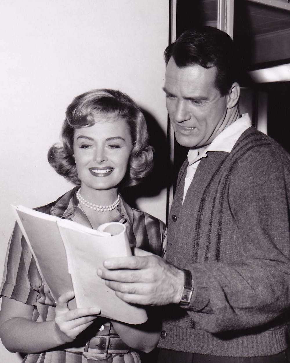 Donna Reed and Carl Betz