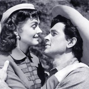 Donna Reed and Rock Hudson