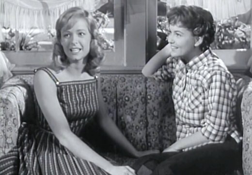 Carole Wells and Shelly Fabares