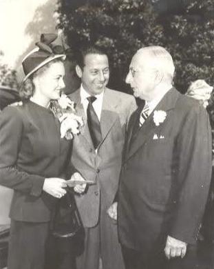 Donna Reed, Tony Owen, Louis B Mayer