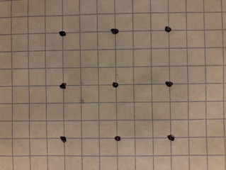 Nine dots, four lines; A challenge for 2020