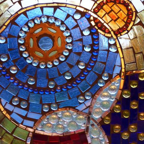 Glass Mosaic Sample Piece