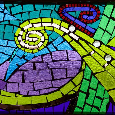 St. John Paul II Chapel Windows (Stony Plain)