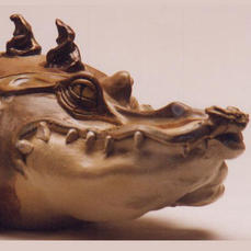Crocodile Cookie Jar
