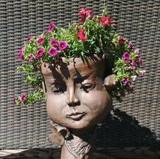 Gaia Sculpted Planter