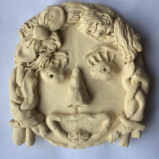 Self Portrait in Clay
