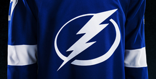 Tampa Bay Lightning....                         Home Jersey