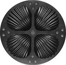 The Deep Groved Shell Idli Plate