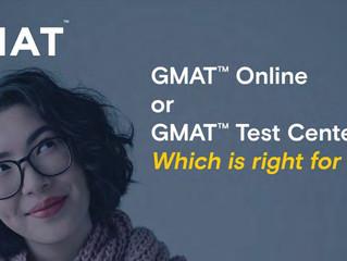GMAT online 跟實體考試的差異