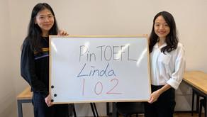 【心得】兩週衝刺一戰102 感謝PinTOEFL顧問Lucy跟Lily