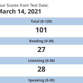 【心得】台大管院一戰101 謝謝Pin TOEFL給的方向