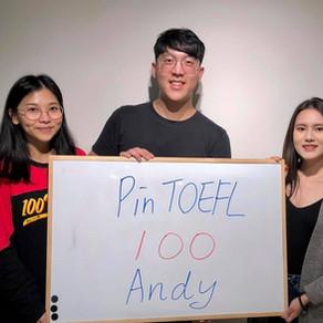 【心得】感謝Pin TOEFL帶我三週一戰破百