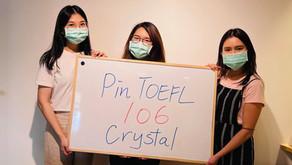 【心得】台大社工二戰106 進步7分 謝謝Pin TOEFL不離不棄
