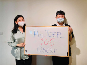 【心得】Pin TOEFL家教班 三週準備 一戰106 (附詳細實戰分享)
