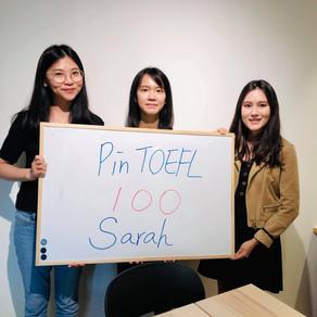 【心得】托福寫作卡關 感謝Pin TOEFL帶我破百 + 寫作25