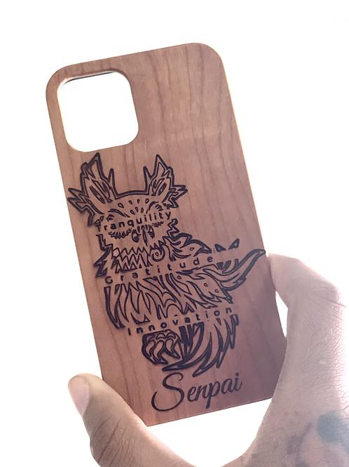 Wood Owl Case