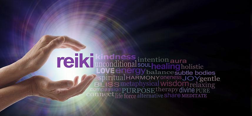 Reiki Vortex Healing Word Cloud - Female