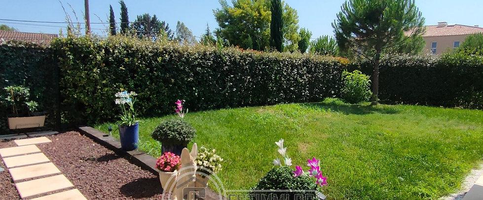 Grand T4 résidence récente avec jardin !