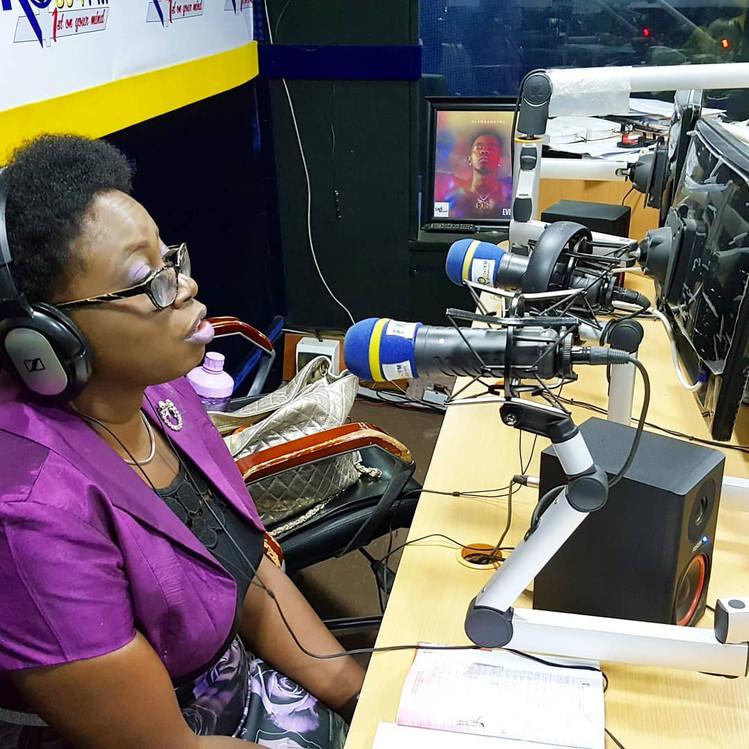 Lady Shayo on Radio