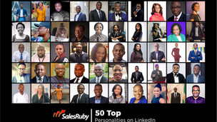 Lady Shayo one of the 50 Top Personalities on LinkedIn 2019