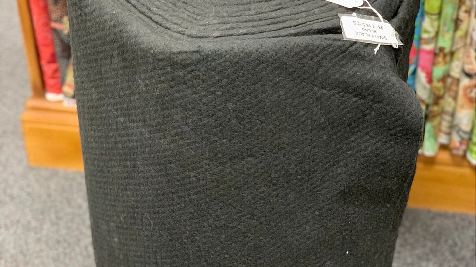Black Wadding (per m)