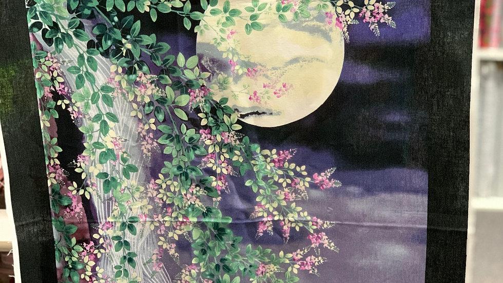 'Full Moon' Fabric Panel