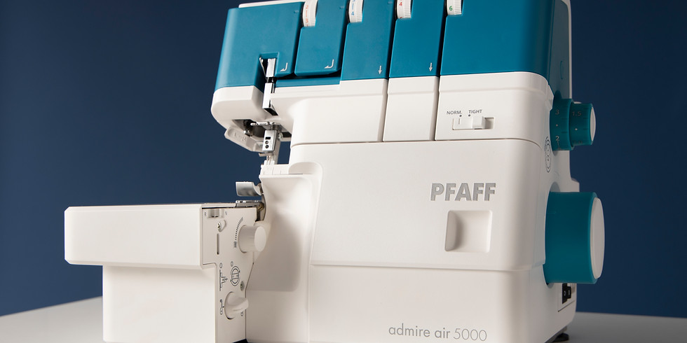 Demo Day - One Touch Air Threading Overlocker PFAFF