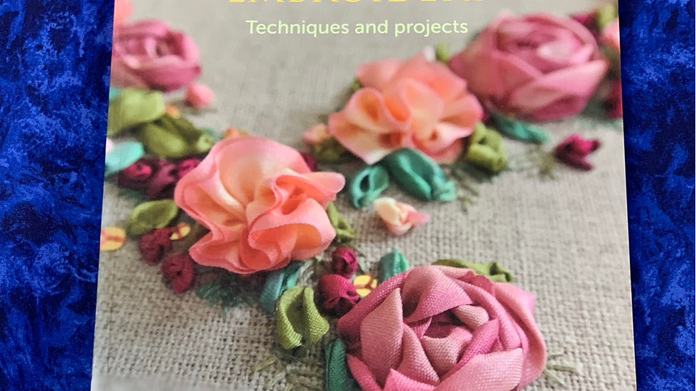 Ribbonwork Embroidery Book