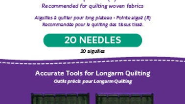 Longarm Needles - High Speed (20)