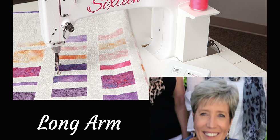 'Sweet Sixteen' Long Arm Quilting - Demo Day with Bev McClune
