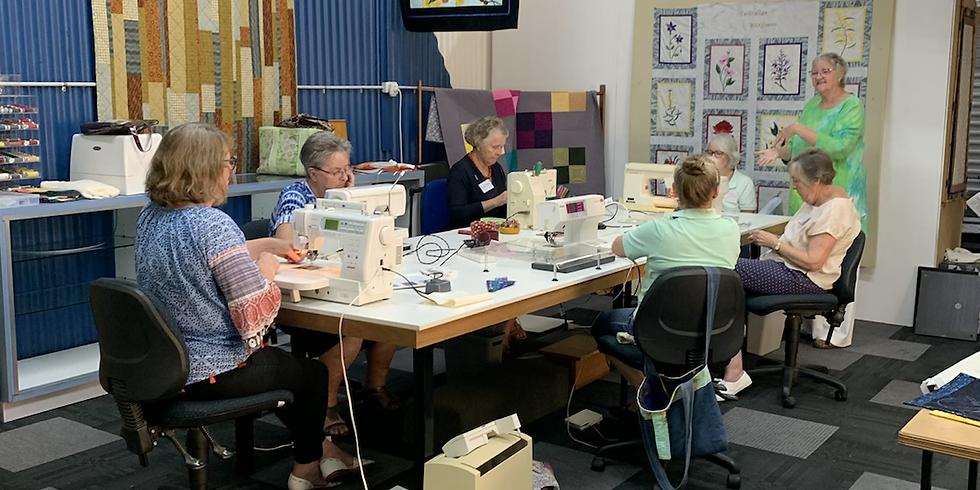 Free Motion Quilting FULLY BOOKED