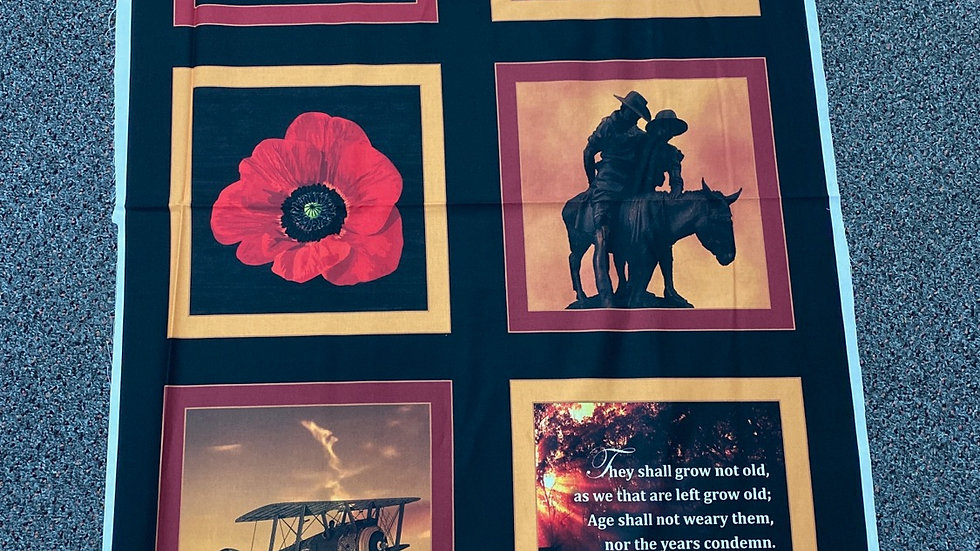 WW1 - Remembering Collection (per panel)