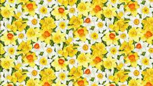Summer Garden - Daffodil (per m)