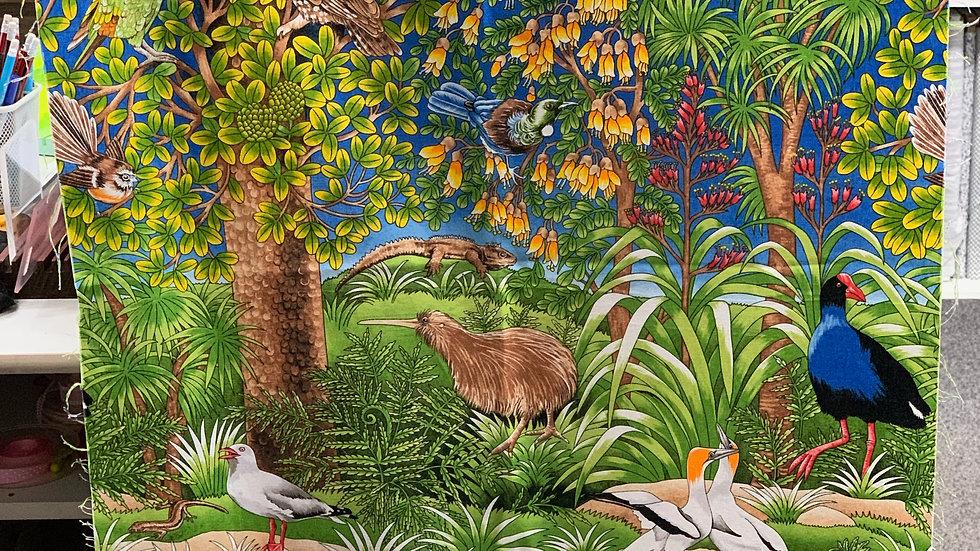 'Beach to Bush' Fabric Panel