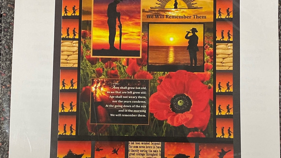 Anzac Day - Janet Collins Design