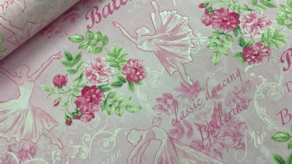 Pearl Ballet pink (per m)