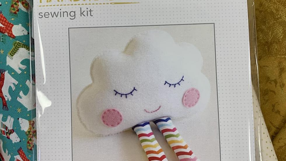 Handmade Sewing Kit 'Cloud'
