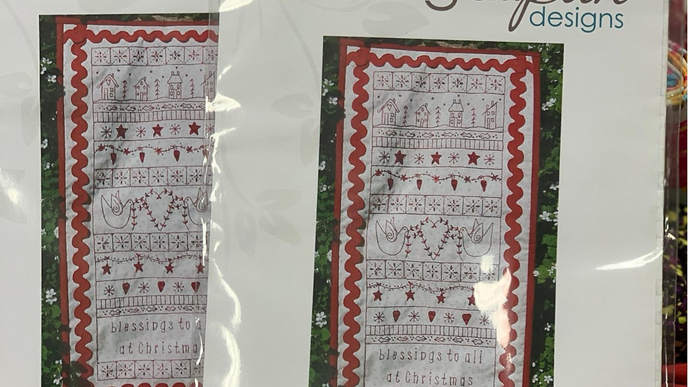 'Blessings to All' Pattern - Gail Pan Designs