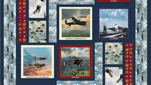 Airborne Quilt Pattern