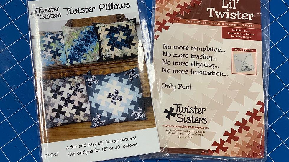 Twister Pillows Pattern Kit