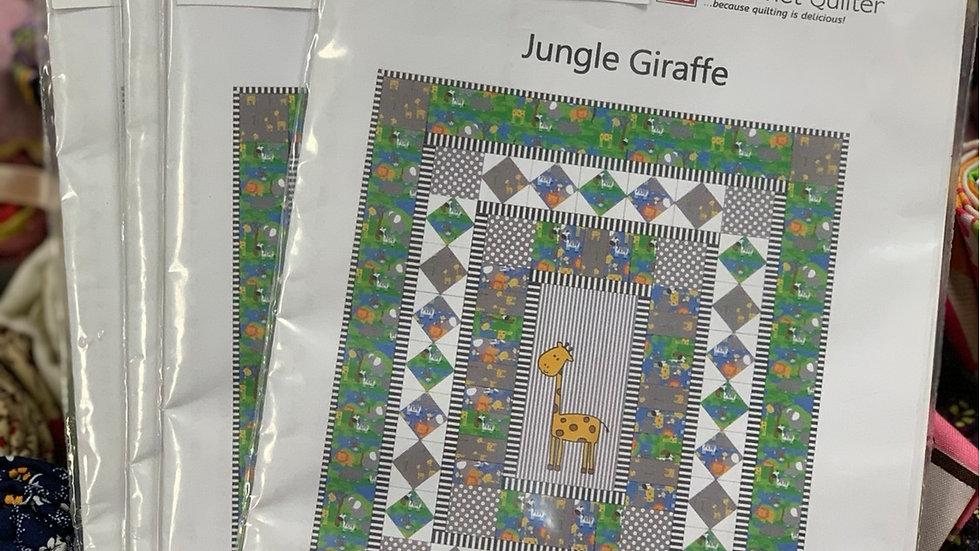 'Jungle giraffe' Pattern - Gourmet Quilter