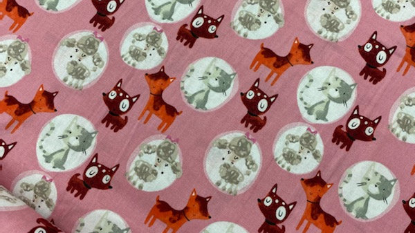 'Dogs'- The Craft Cotton Co (per m)