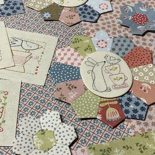 The Birdhouse Fabric