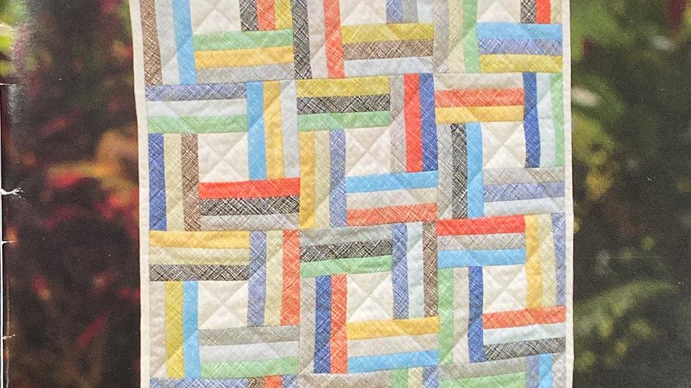 "Mini Jaybird Quilt Pattern ""Off the Rail"""